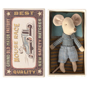 Maileg Little Brother Mouse in Matchbox 10 cm