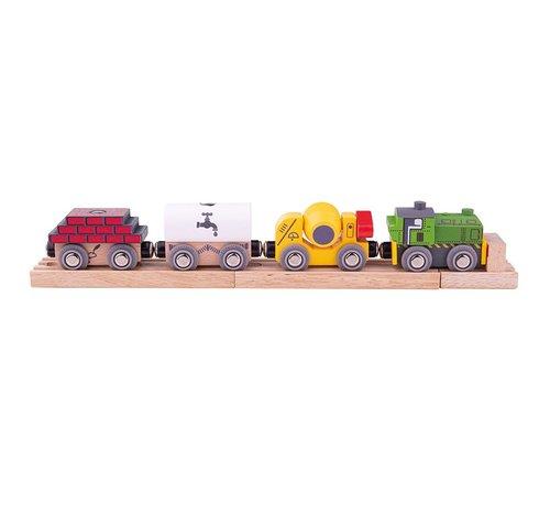 Bigjigs Construction Train
