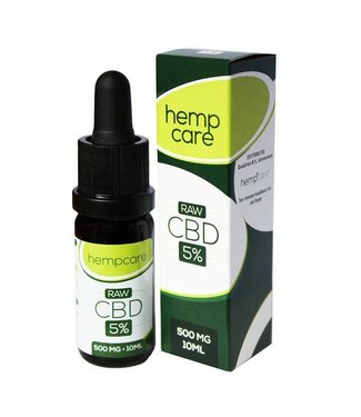 Hempcare Hempcare Raw CBD Oil 5% 10ml