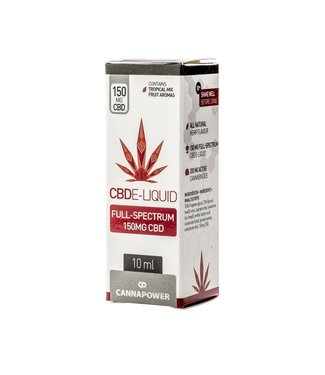 Cannapower Cannapower CBD E-Liquid 150mg Tropical Fruit