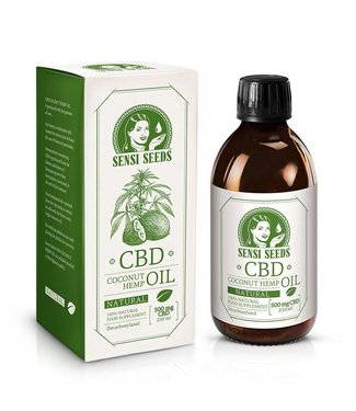 Sensi Seeds Sensi Seeds Hemp/Coconut CBD Oil 0,2% 250ml