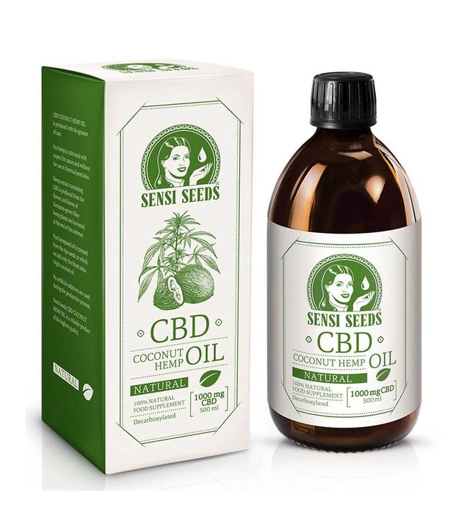 Sensi Seeds Sensi Seeds Hemp/Coconut CBD Oil 0,2% 500ml
