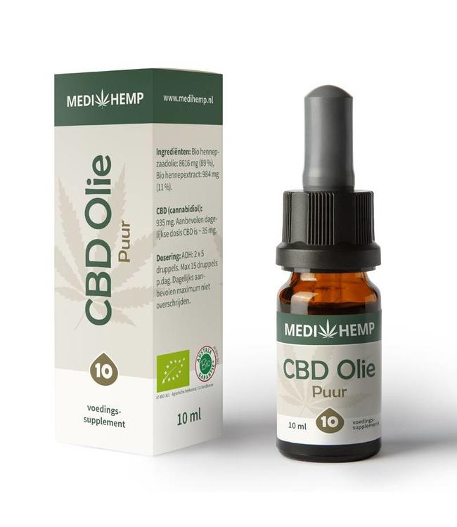 Medihemp Medihemp CBD Oil Pure 10% 10ml