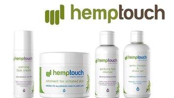 Biologische huidproducten met CBD van Hemptouch