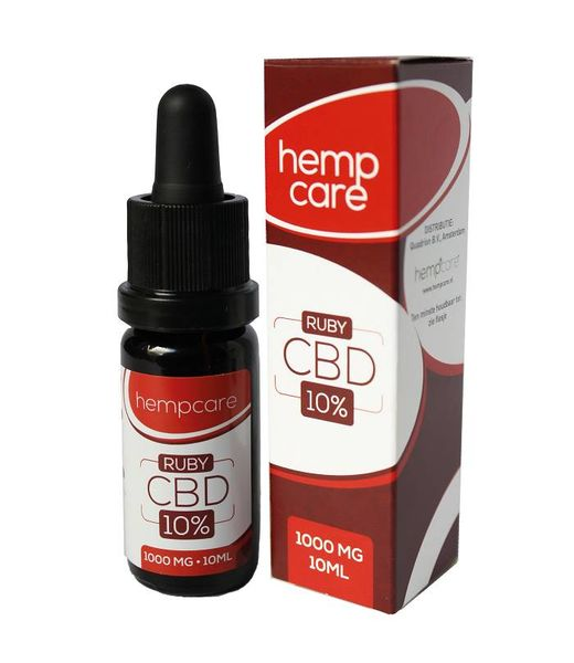 Hempcare Ruby CBD Oil 10% 10ml
