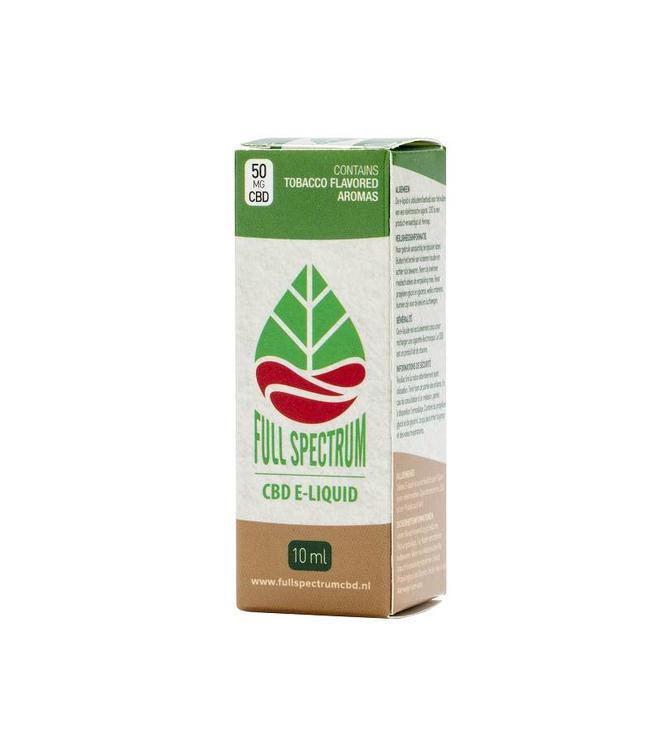 Fullspectrum CBD Fullspectrum CBD E-Liquid 50mg Tobacco