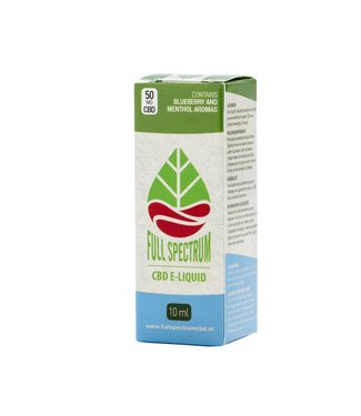 Fullspectrum CBD Fullspectrum CBD E-Liquid 50mg Blueberry menthol