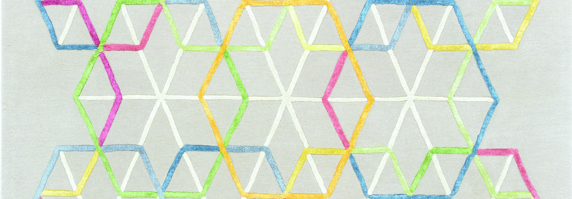 Vloerkleed Hexagon 990 170x240cm