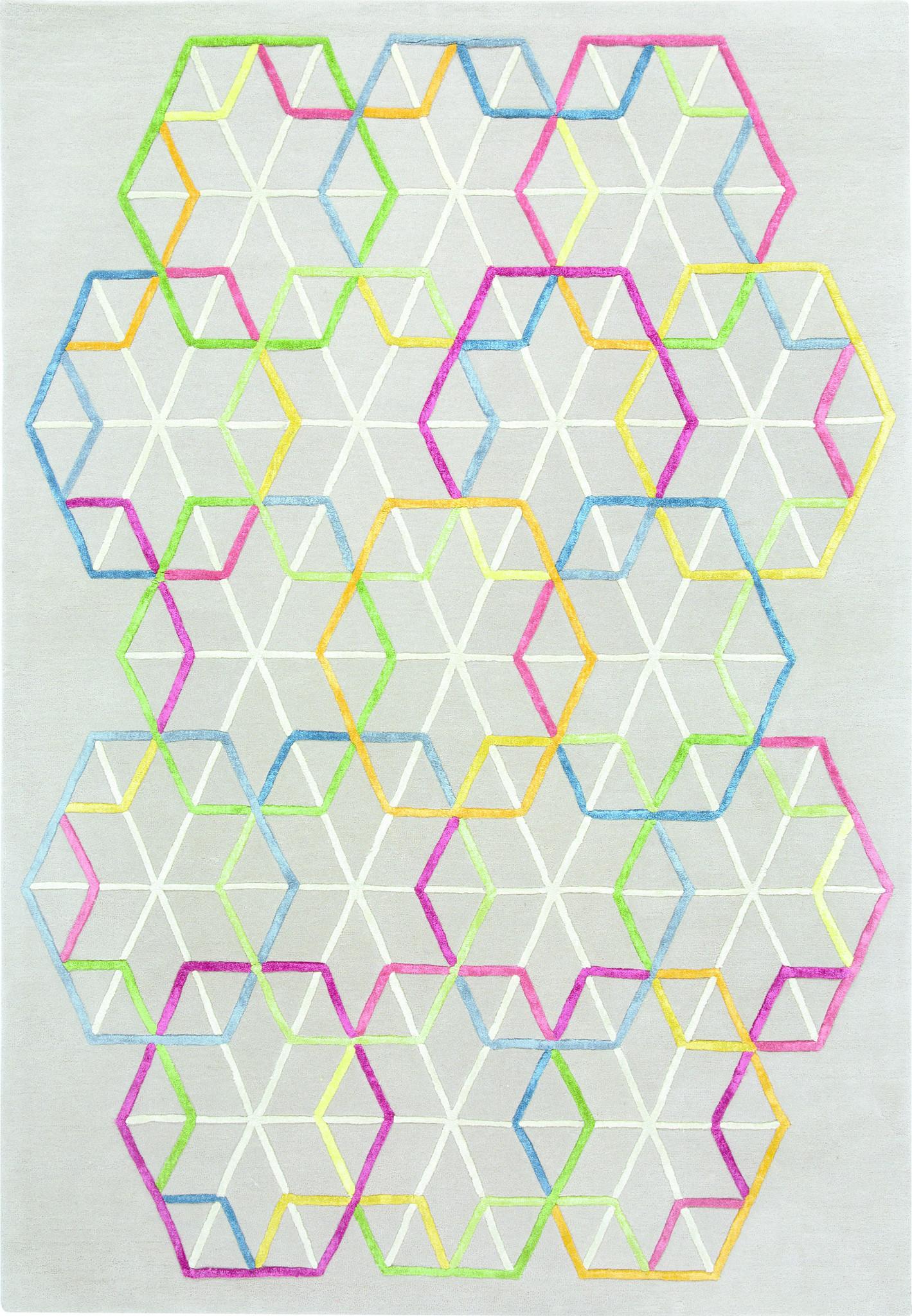 Vloerkleed Hexagon 990 170x240cm-1