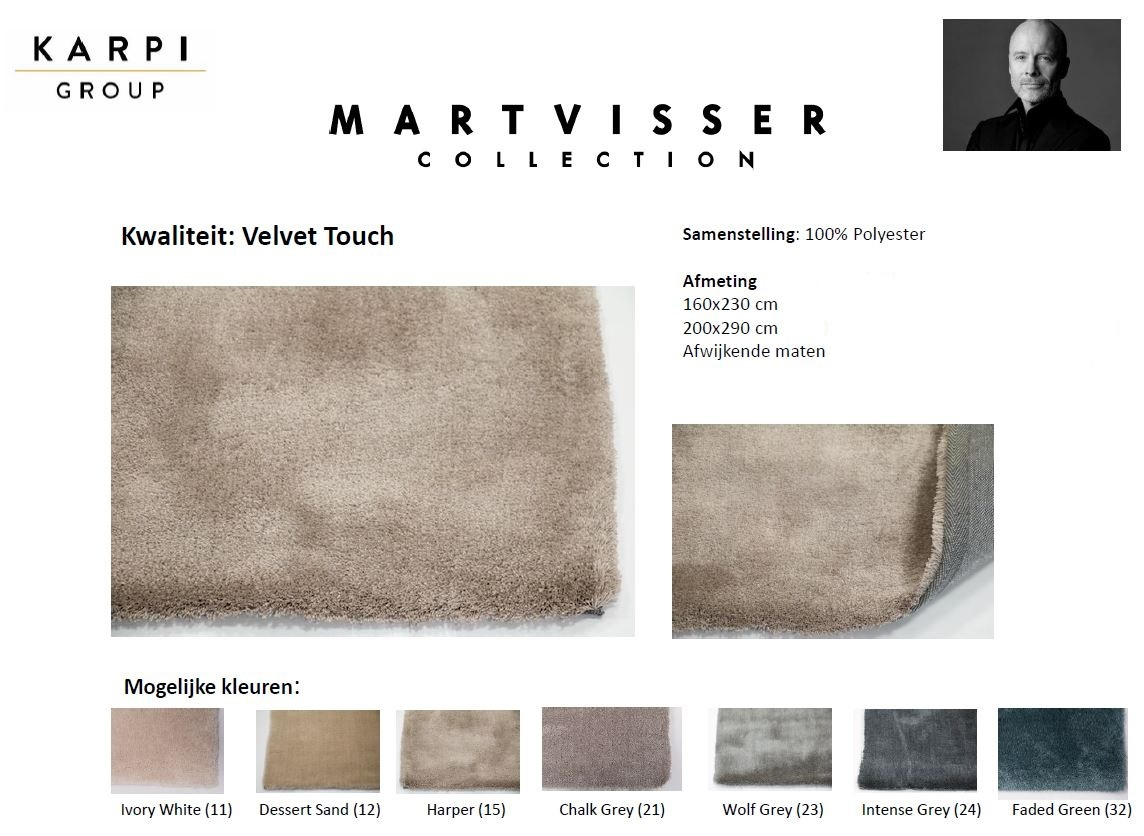 Mart Visser Velvet Touch Ivory White kleur 11-4
