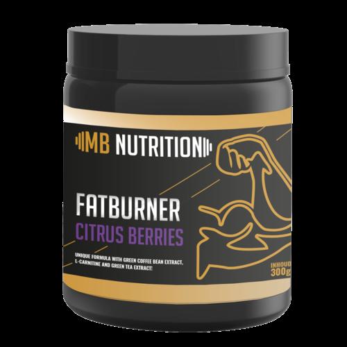 MB Nutrition Fat Burner (300g) - Citrus Berries