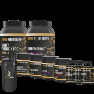 MB Nutrition Opbouwpakket Mannen XXL