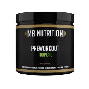 MB Nutrition Pre workout (300g) - Tropical