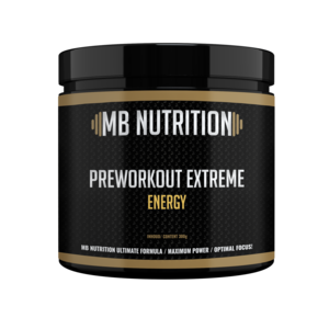 MB Nutrition Pre-Workout Extra Strong Energy