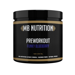 MB Nutrition Pre workout (300g) - Funky blueberry