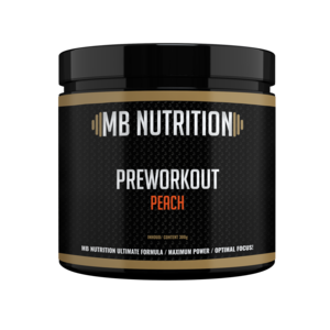 MB Nutrition Pre workout (300g) - Peach