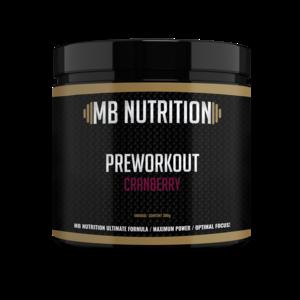 MB Nutrition Pre workout (300g) - Cranberry