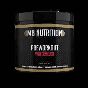 MB Nutrition Pre workout (300g) - Watermeloen