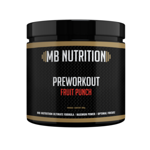 MB Nutrition Pre workout (300g) - Fruit Punch
