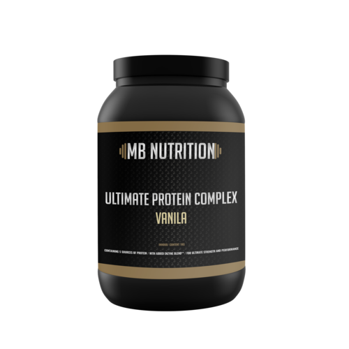 MB Nutrition Ultimate Protein Complex - Vanille