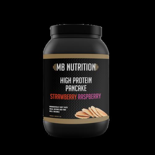 MB Nutrition Protein Pancake Mix (1kg) - Aardbei framboos