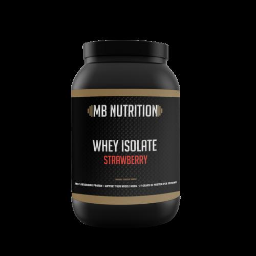 MB Nutrition Whey Isolate  (900 Gram) - Aardbei