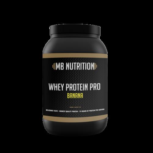 MB Nutrition Whey Proteïne Pro (1 Kilo) - Banaan