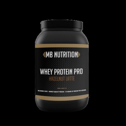 MB Nutrition Whey Proteïne Pro (1 Kilo) - Hazelnoot latte