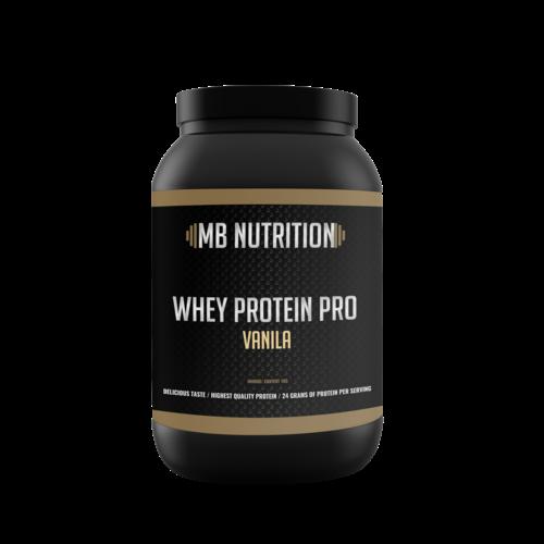 MB Nutrition Whey Proteïne Pro (1 Kilo) - Vanille