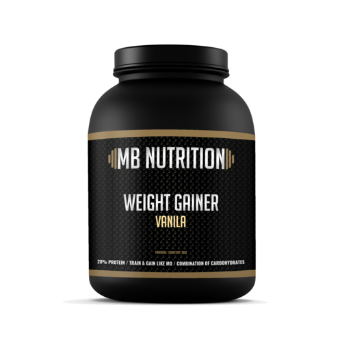 MB Nutrition Weight Gainer Vanille (3 Kilo)