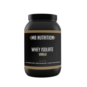 MB Nutrition Whey Isolate  (900 Gram) - Vanille
