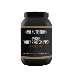 MB Nutrition Vegan protein shake (1kg) - Vanille  & hazelnoot