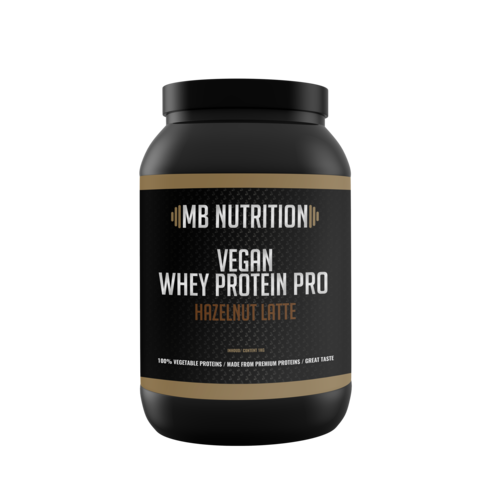 MB Nutrition Vegan protein shake - Vanille  & hazelnoot