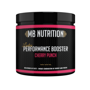 MB Nutrition Pre workout Ladies performance Cherry Punch