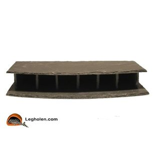 CeramicNature Slate stone hotel single round