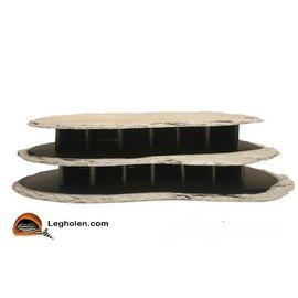 CeramicNature Slate stone hotel round