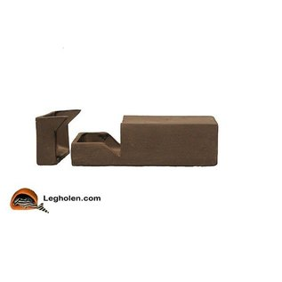 CeramicNature Breeding cave MediumLarge rectangle brown open
