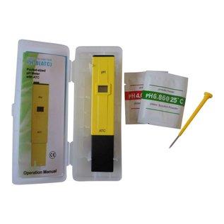 Eigen merk pH meter geel