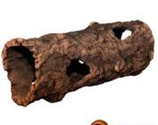 Round tree logs
