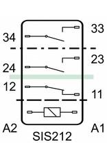ELESTA relays SIS 3 Baureihe - SIS 212