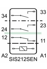 ELESTA relays SIS 3 Series - SIS 212 SEN