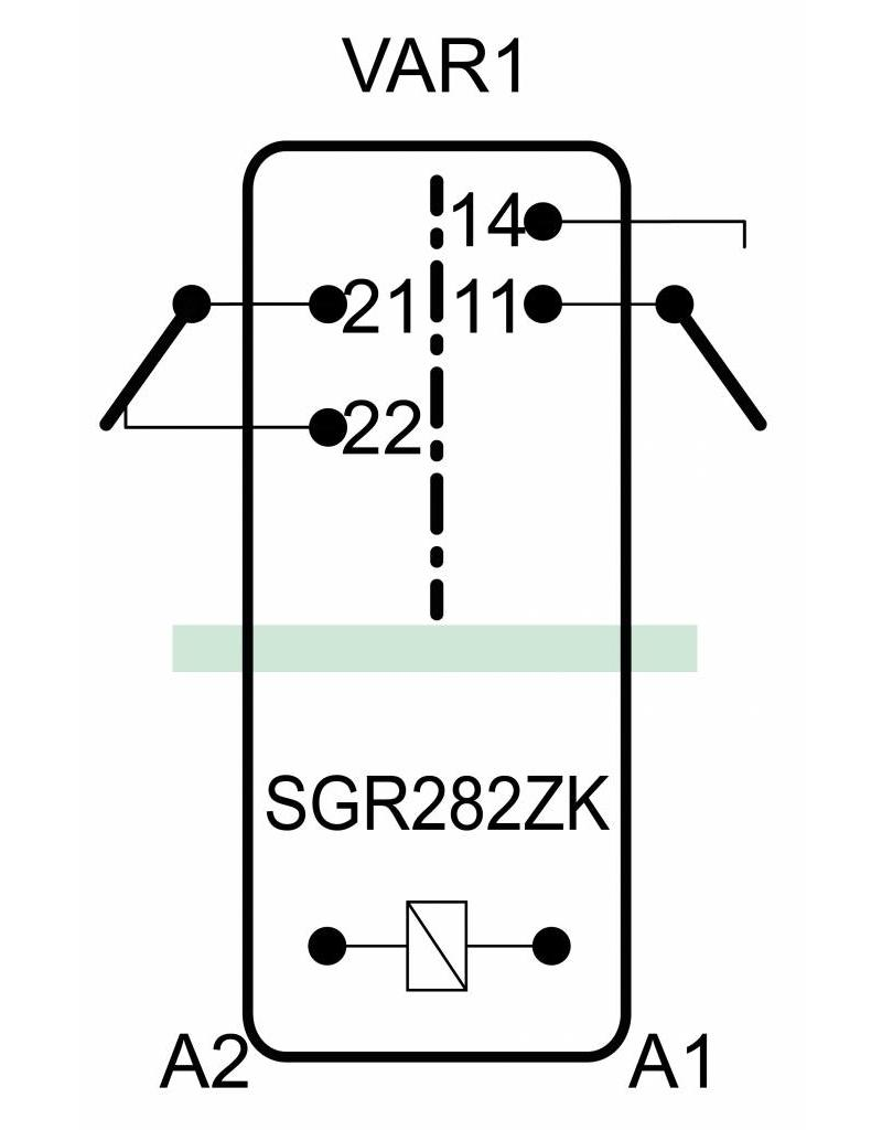 ELESTA relays SGR 282 ZK Baureihe - VAR 1