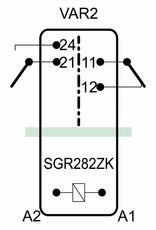 ELESTA relays SGR 282 ZK Series - VAR 2