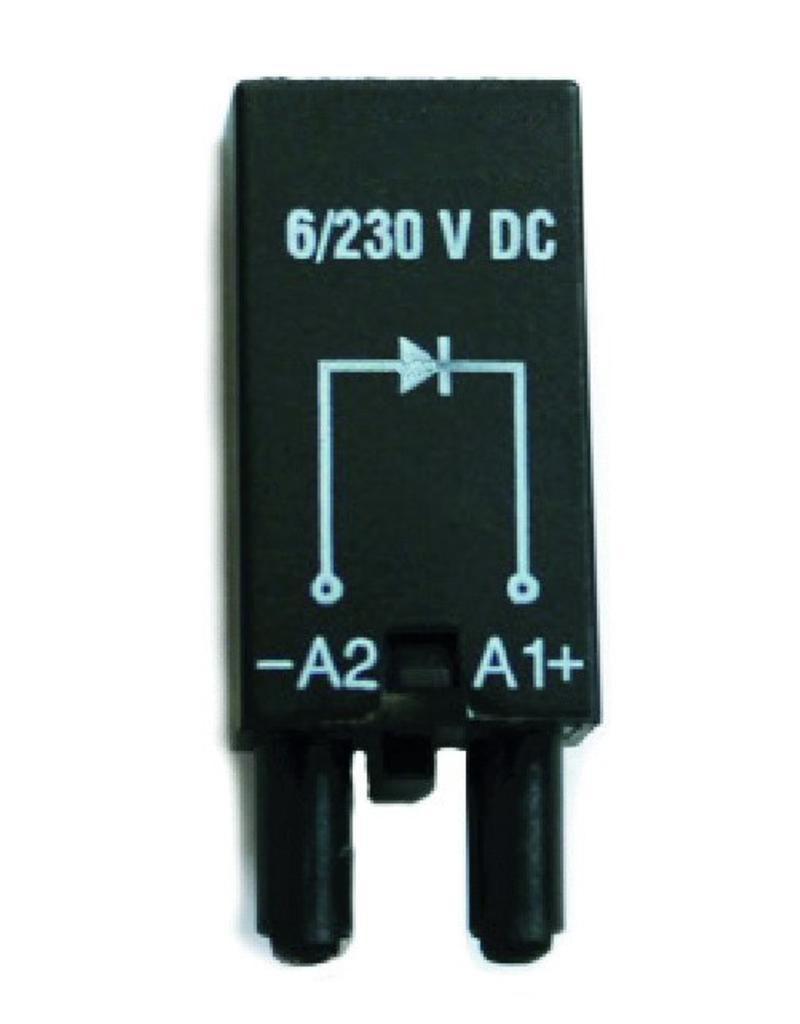 ELESTA relays Module SRD-SGR2-M01 for DIN rail socket SRD-SGR2