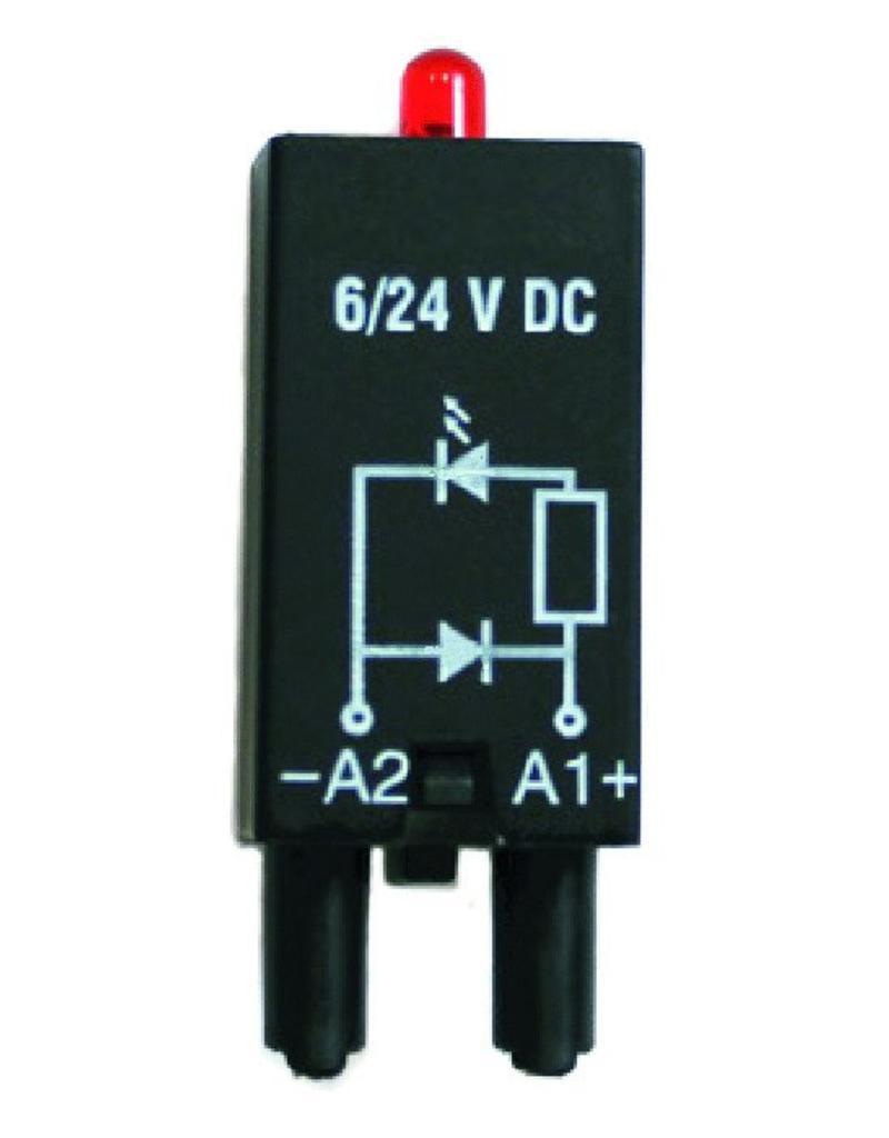 ELESTA relays Module SRD-SGR2-M02 for DIN rail socket SRD-SGR2