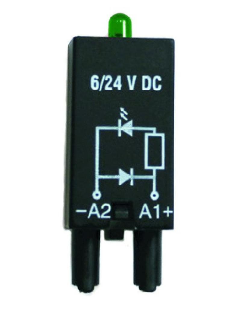 ELESTA relays Modul SRD-SGR2-M03 für DIN-Schienenfassung SRD-SGR2
