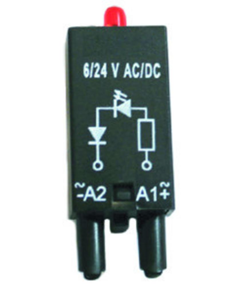 ELESTA relays Modul SRD-SGR2-M04 für DIN-Schienenfassung SRD-SGR2