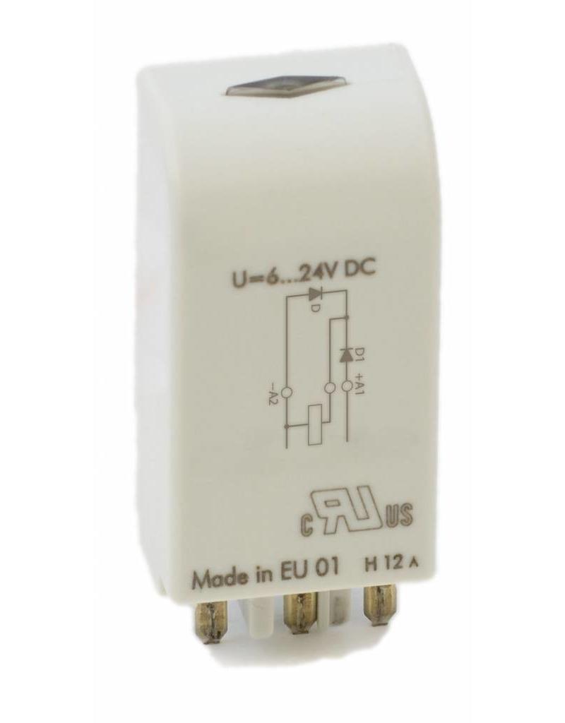 ELESTA relays Modul SRD-SGR2A-M01 für DIN-Schienenfassungen SRD-SGR2A KV2 und SRD-SGR2A KV2 PIK