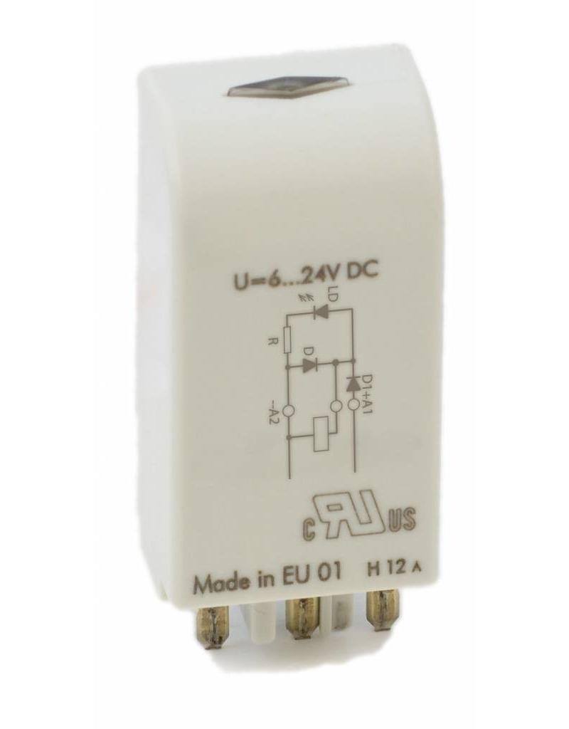 ELESTA relays Modul SRD-SGR2A-M03 für DIN-Schienenfassungen SRD-SGR2A KV2 und SRD-SGR2A KV2 PIK