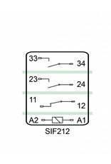 ELESTA relays SIF 3 Baureihe - SIF 212